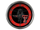 Texas Tech Red Raiders Chrome Clock II Home Office & School Supplies