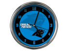 Carolina Panthers Chrome Clock II Home Office & School Supplies