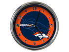 Denver Broncos Chrome Clock II Home Office & School Supplies