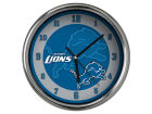 Detroit Lions Chrome Clock II Home Office & School Supplies
