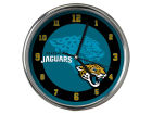 Jacksonville Jaguars Chrome Clock II Home Office & School Supplies