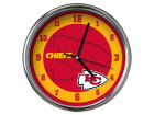 Kansas City Chiefs Chrome Clock II Home Office & School Supplies