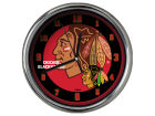 Chicago Blackhawks Chrome Clock II Home Office & School Supplies