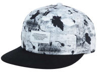 WeSC Concrete Floral Strapback Hat Adjustable Hats