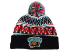 Vancouver Grizzlies Mitchell and Ness NBA Tribal HI 5 Pom Beanie Knit Hats