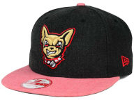 New Era MiLB Heather Action 9FIFTY Snapback Cap Adjustable Hats