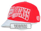 Detroit Red Wings Old Time Hockey NHL Youth Ice Time Cap Adjustable Hats