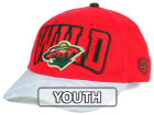 Minnesota Wild Old Time Hockey NHL Youth Ice Time Cap Adjustable Hats