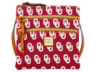 Oklahoma Sooners Dooney & Bourke Dooney & Bourke Triple Zip Crossbody Bag Luggage, Backpacks & Bags
