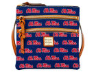 Mississippi Rebels Dooney & Bourke Dooney & Bourke Triple Zip Crossbody Bag Luggage, Backpacks & Bags