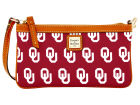 Oklahoma Sooners Dooney & Bourke Dooney & Bourke Large Slim Wristlet Luggage, Backpacks & Bags