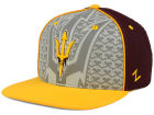 Arizona State Sun Devils Top of the World NCAA Reflector Snapback Cap Adjustable Hats