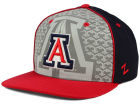 Arizona Wildcats Top of the World NCAA Reflector Snapback Cap Adjustable Hats