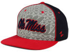 Mississippi Rebels Top of the World NCAA Reflector Snapback Cap Adjustable Hats