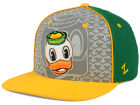 Oregon Ducks Top of the World NCAA Reflector Snapback Cap Adjustable Hats