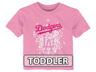 Majestic MLB Toddler Girls Pouring Stars T-Shirt T-Shirts