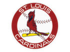 St. Louis Cardinals Wincraft 4x4 Die Cut Decal Color Bumper Stickers & Decals