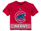 Chicago Cubs Majestic MLB Infant Baby Mascot T-Shirt Infant Apparel
