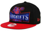 Denver Nuggets New Era NBA HWC Metallic Grader 9FIFTY Snapback Cap Adjustable Hats