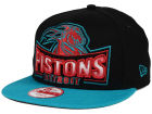 Detroit Pistons New Era NBA HWC Metallic Grader 9FIFTY Snapback Cap Adjustable Hats