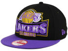 Los Angeles Lakers New Era NBA HWC Metallic Grader 9FIFTY Snapback Cap Adjustable Hats