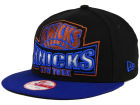 New York Knicks New Era NBA HWC Metallic Grader 9FIFTY Snapback Cap Adjustable Hats