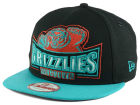 Vancouver Grizzlies New Era NBA HWC Metallic Grader 9FIFTY Snapback Cap Adjustable Hats