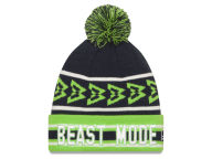 Beast Mode Skyline Knit Hats