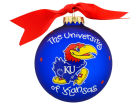 Kansas Jayhawks Logo Ornament Holiday