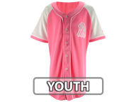 Majestic MLB Youth Girls Pink Fashion Jersey Jerseys