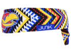 Kansas Jayhawks Junk Brands NCAA Flex Tie Headband Hats