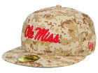 Mississippi Rebels New Era NCAA AC 59FIFTY Cap Fitted Hats