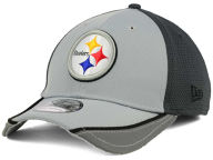 New Era NFL Chase Gray Reflective 39THIRTY Cap Stretch Fitted Hats