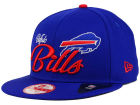 Buffalo Bills New Era NFL Chase Script Front 9FIFTY Snapback Cap Adjustable Hats
