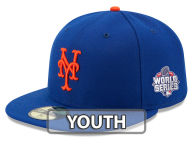 New Era MLB 2015 Youth World Series 59Fifty AC Patch 59FIFTY Cap Fitted Hats