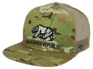 California Myers Camo Trucker Cap Adjustable Hats