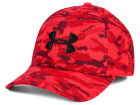 Under Armour Print Blitzing Stretch Fit Cap Stretch Fitted Hats