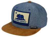 Official Cali Cham Suede Strapback Cap Adjustable Hats