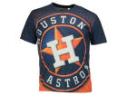 Houston Astros Forever Collectibles MLB Men's Big Logo Sublimated T-Shirt T-Shirts