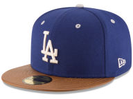 New Era MLB Leather Banner Patch 59FIFTY Cap Fitted Hats
