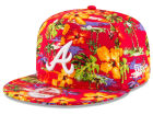 Atlanta Braves New Era MLB Spring Time 9FIFTY Cap Adjustable Hats
