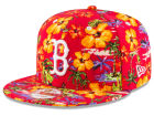 Boston Red Sox New Era MLB Spring Time 9FIFTY Snapback Cap Adjustable Hats