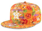 Houston Astros New Era MLB Spring Time 9FIFTY Snapback Cap Adjustable Hats