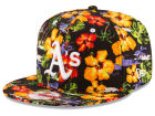 Oakland Athletics New Era MLB Spring Time 9FIFTY Snapback Cap Adjustable Hats