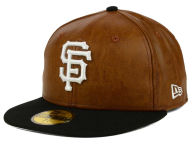 New Era MLB So Leather 2-Tone 59FIFTY Cap Fitted Hats