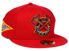 Atlanta Braves New Era MLB Banner Patch 59FIFTY Cap Fitted Hats