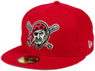 Pittsburgh Pirates New Era MLB Banner Patch 59FIFTY Cap Fitted Hats