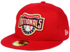 Washington Nationals New Era MLB Banner Patch 59FIFTY Cap Fitted Hats