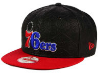 New Era NBA HWC Leather Tri-Boss 9FIFTY Snapback Cap Adjustable Hats