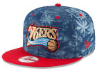 Philadelphia 76ers New Era NBA HWC D-TROP 9FIFTY Snapback Cap Adjustable Hats